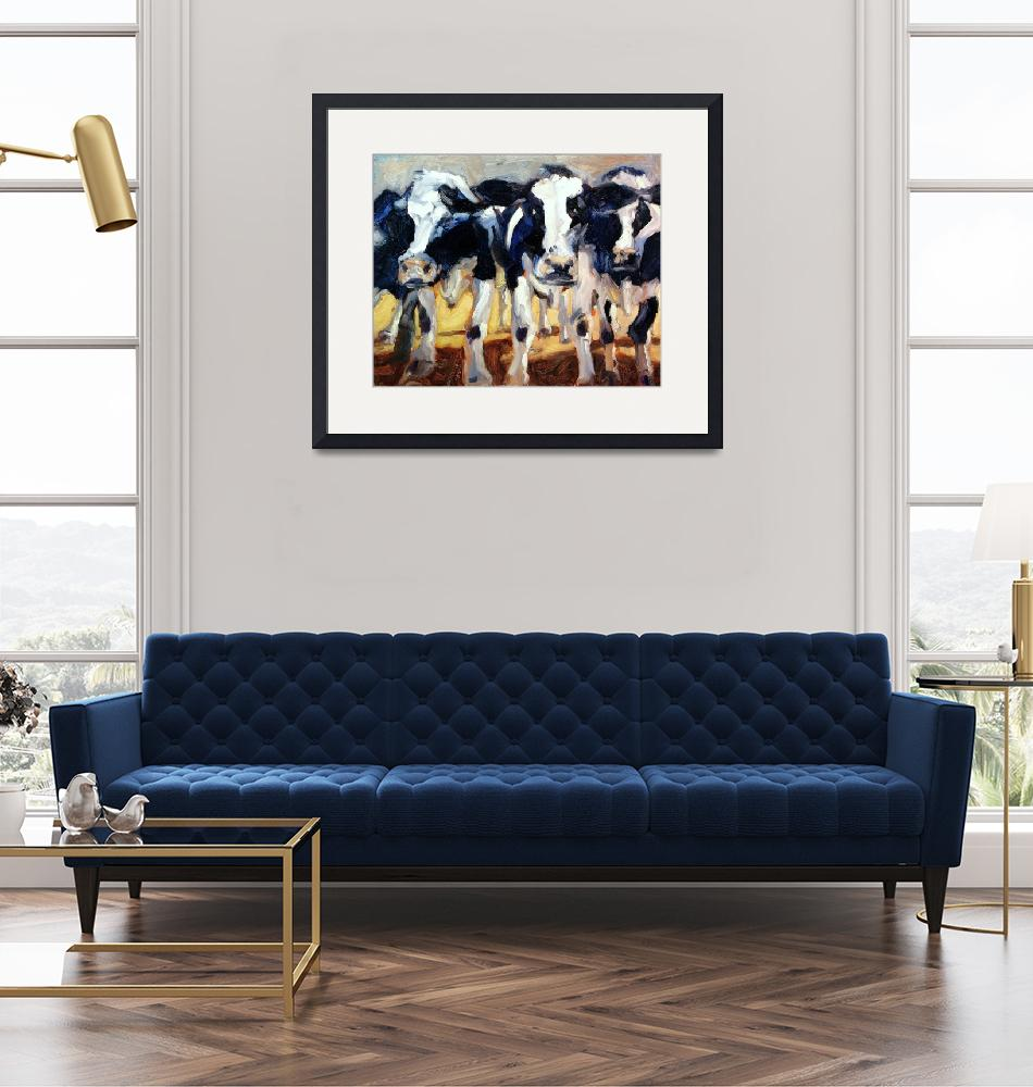 """""""3-COWS""""  (2005) by briansimons"""