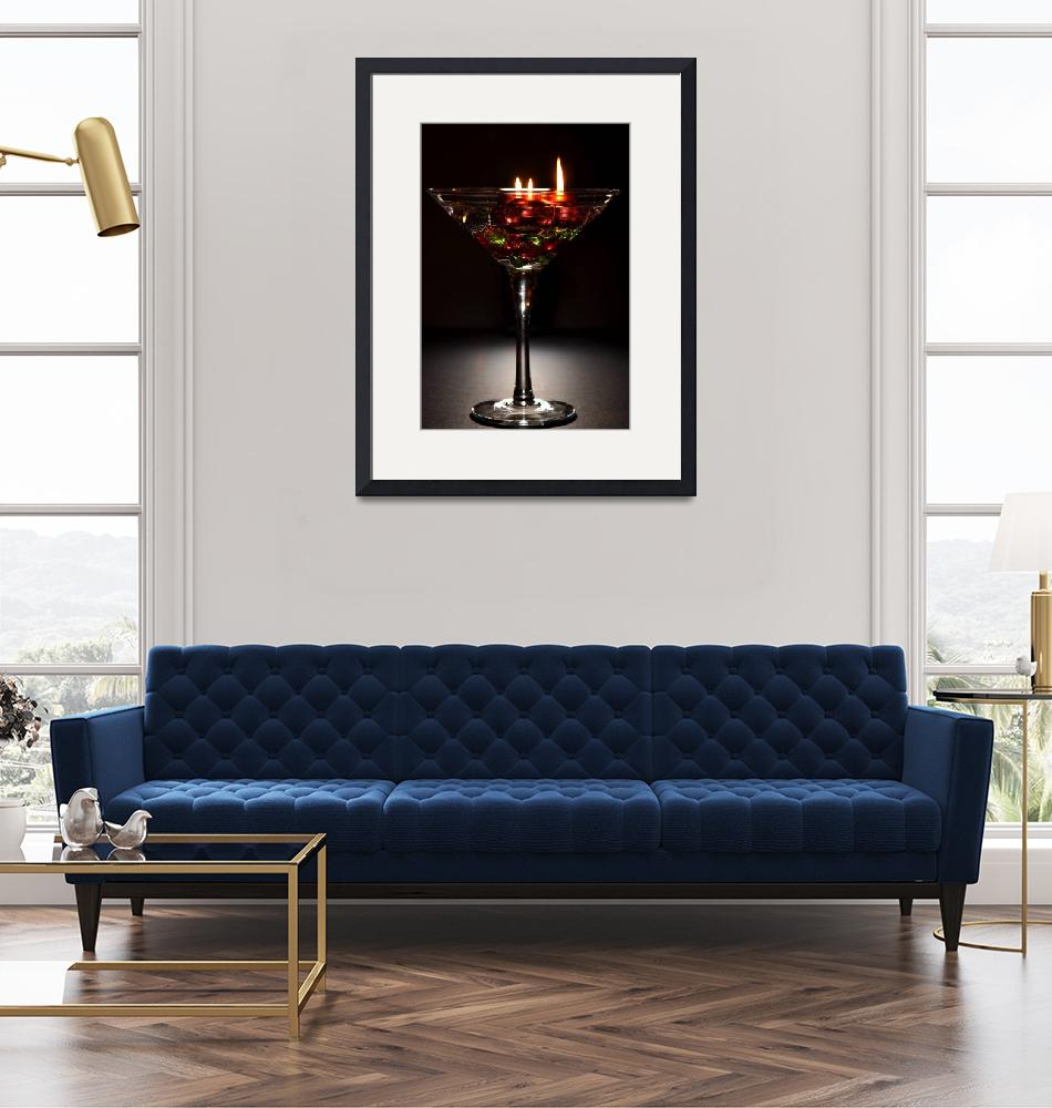 """""""Candle Martini""""  (2009) by MisturPhotography"""