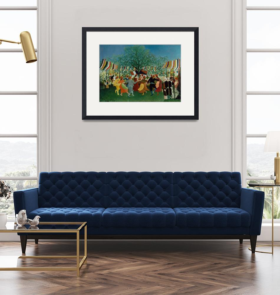 """""""A Centennial of Independence by Henri Rousseau""""  by FineArtClassics"""