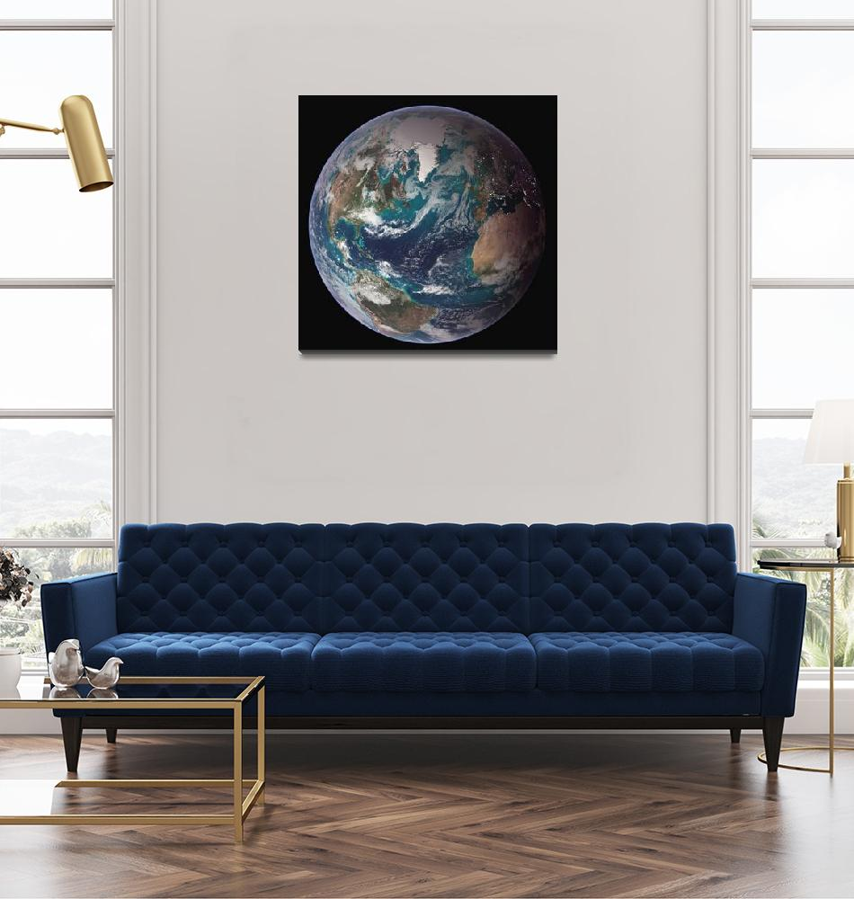 """""""Full view of Earth.""""  by stocktrekimages"""