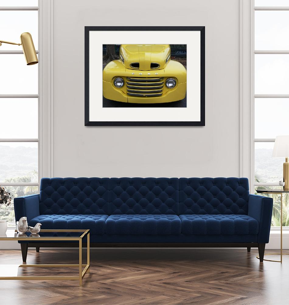 """""""Vintage Yellow Truck"""" (2007) by myperspective"""