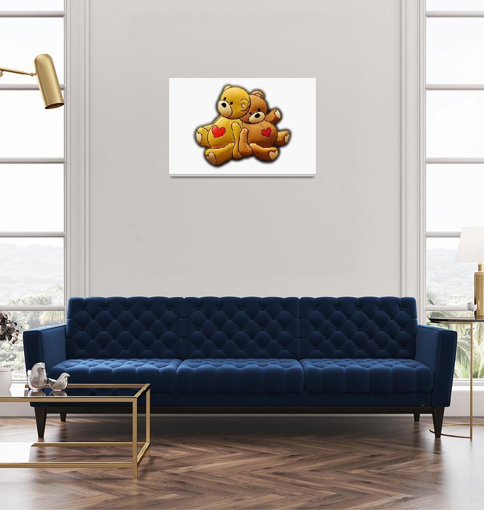 """Teddy bears"" (2011) by Kybdica"