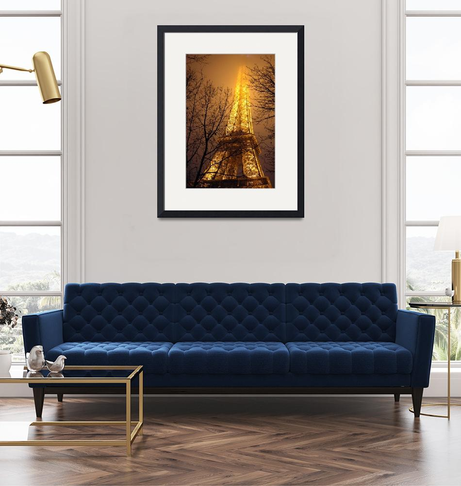 """""""Eiffel Tower Color""""  (2011) by jomachadophotography"""
