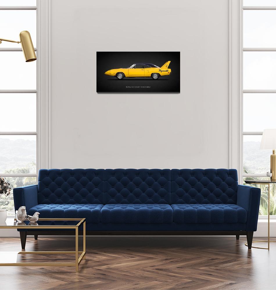 """The Plymouth Road Runner Superbird""  by mark-rogan"