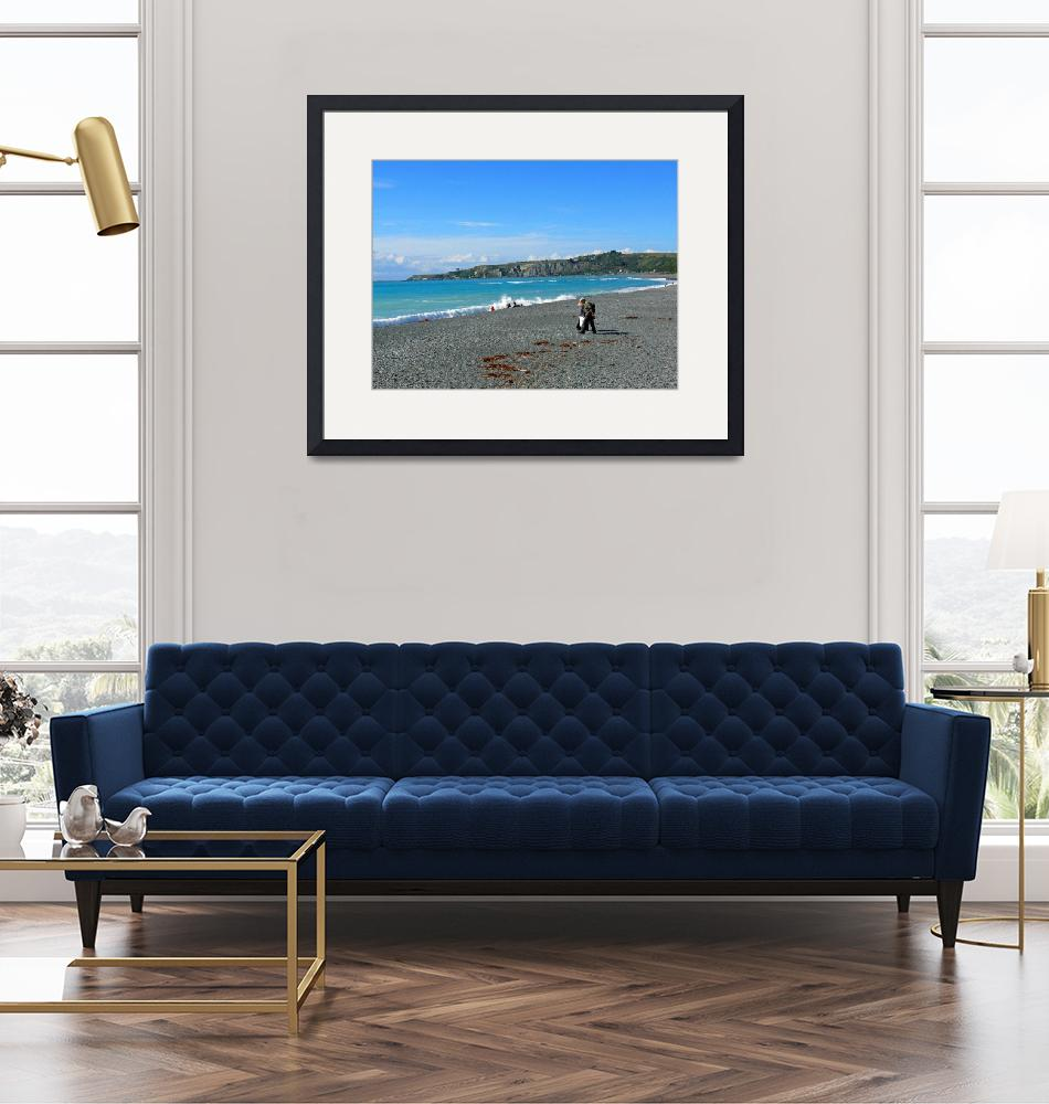 """""""Picnic by the Seaside""""  (2008) by stockphotos"""