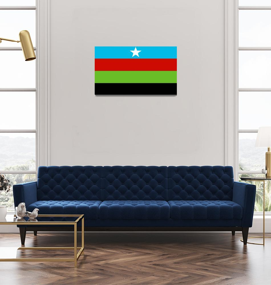 """Somali Bantu Liberation Movement Flag""  by tony4urban"