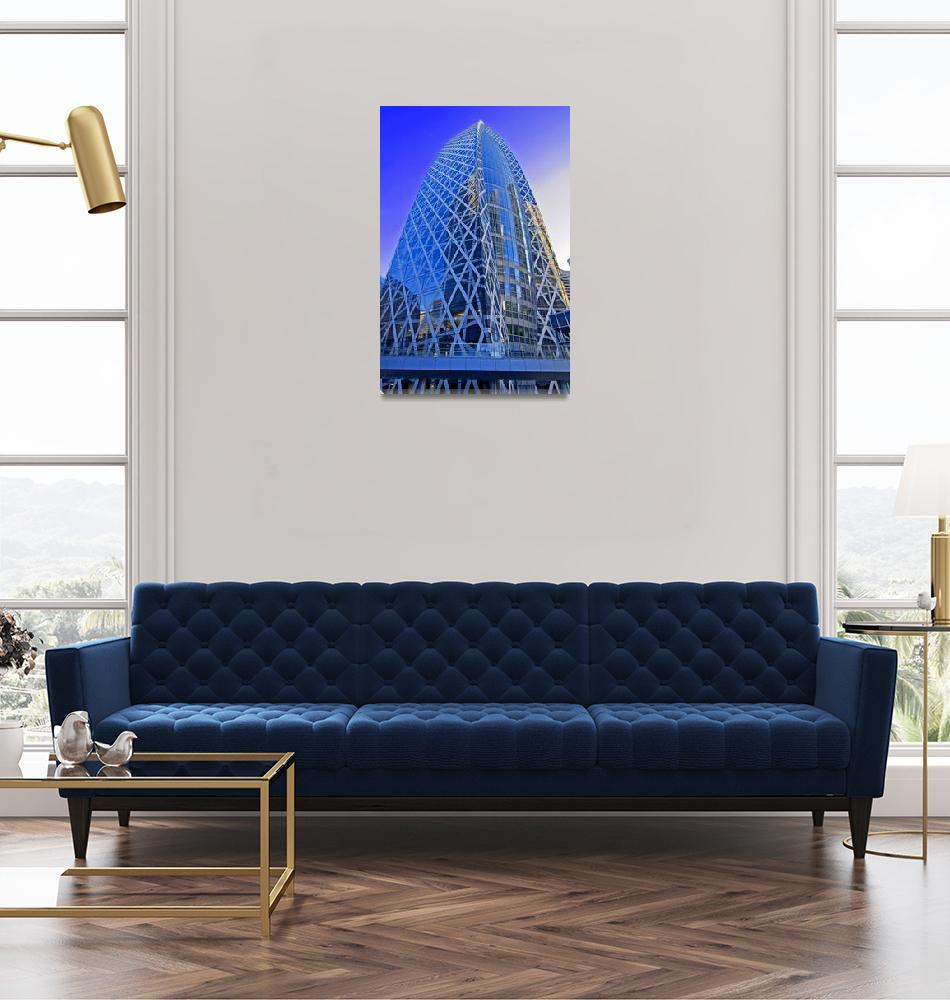 """""""Mode Gakuen Cocoon Tower""""  (2008) by ImageArt-Photography"""