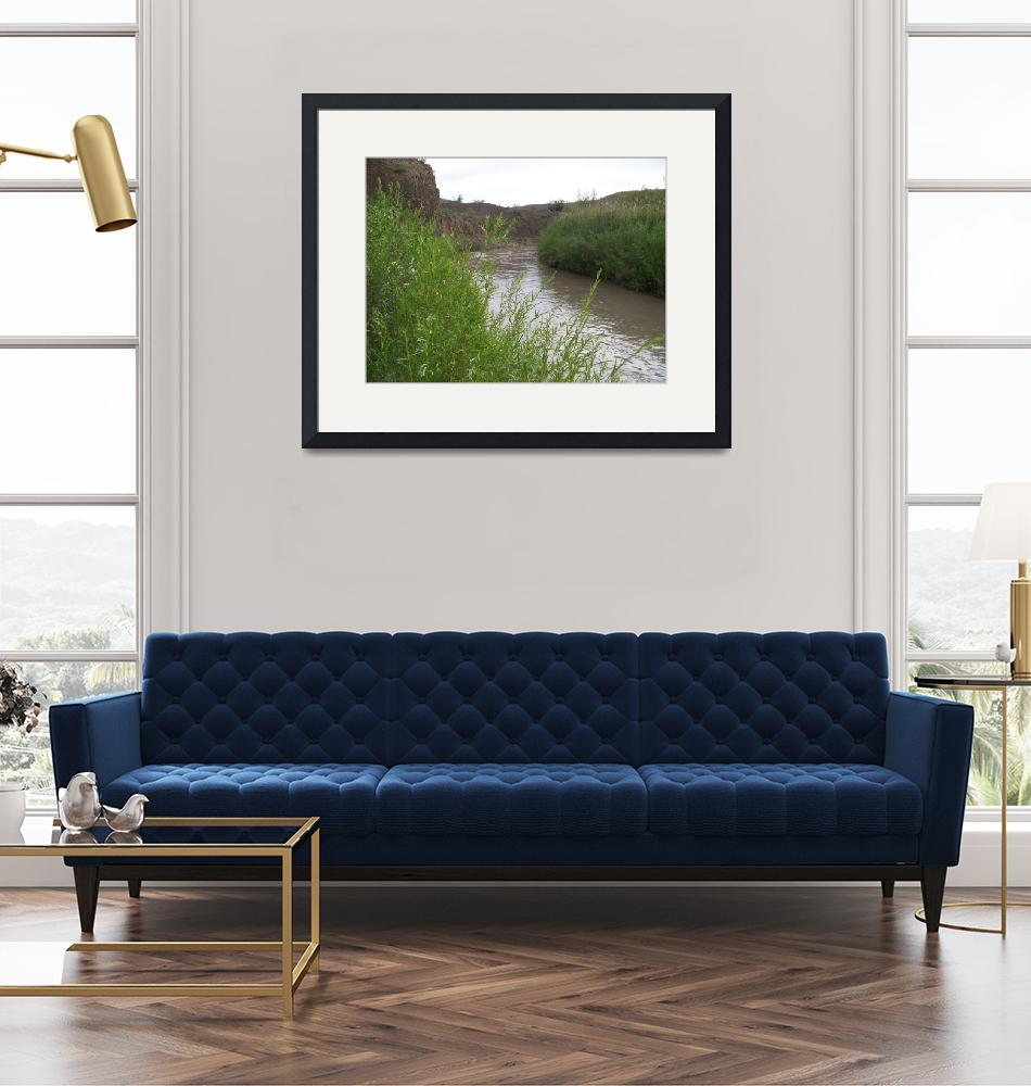 """""""0818 Price River Willows""""  (2009) by Nicholas48"""