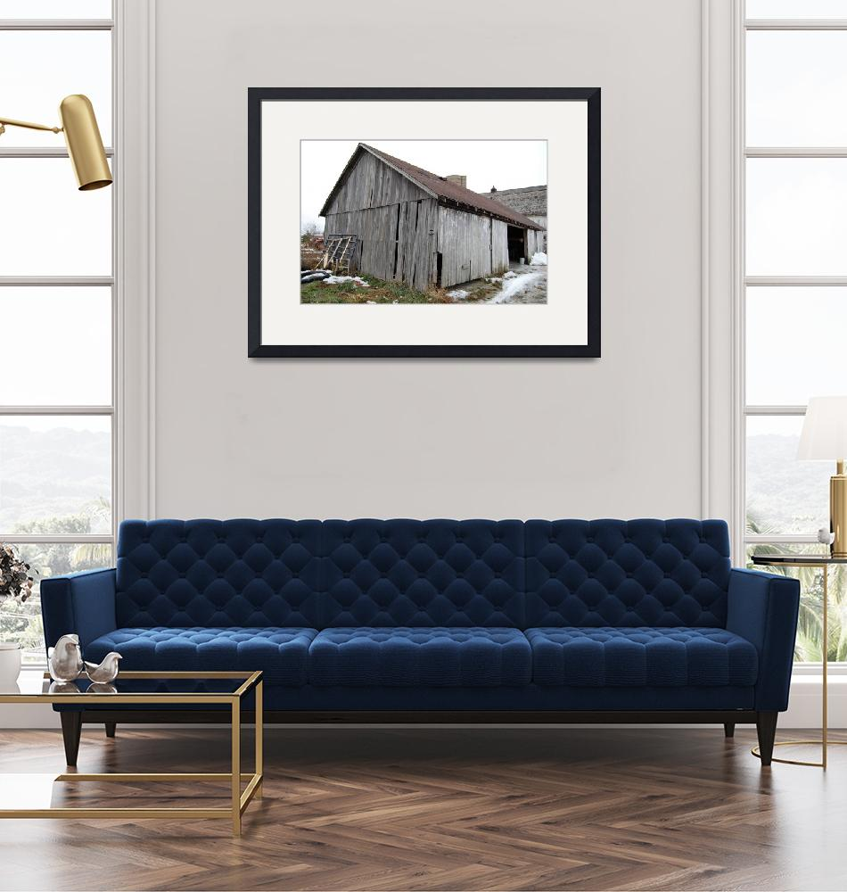 """""""Old Barn""""  (2008) by crazyabouthercats"""
