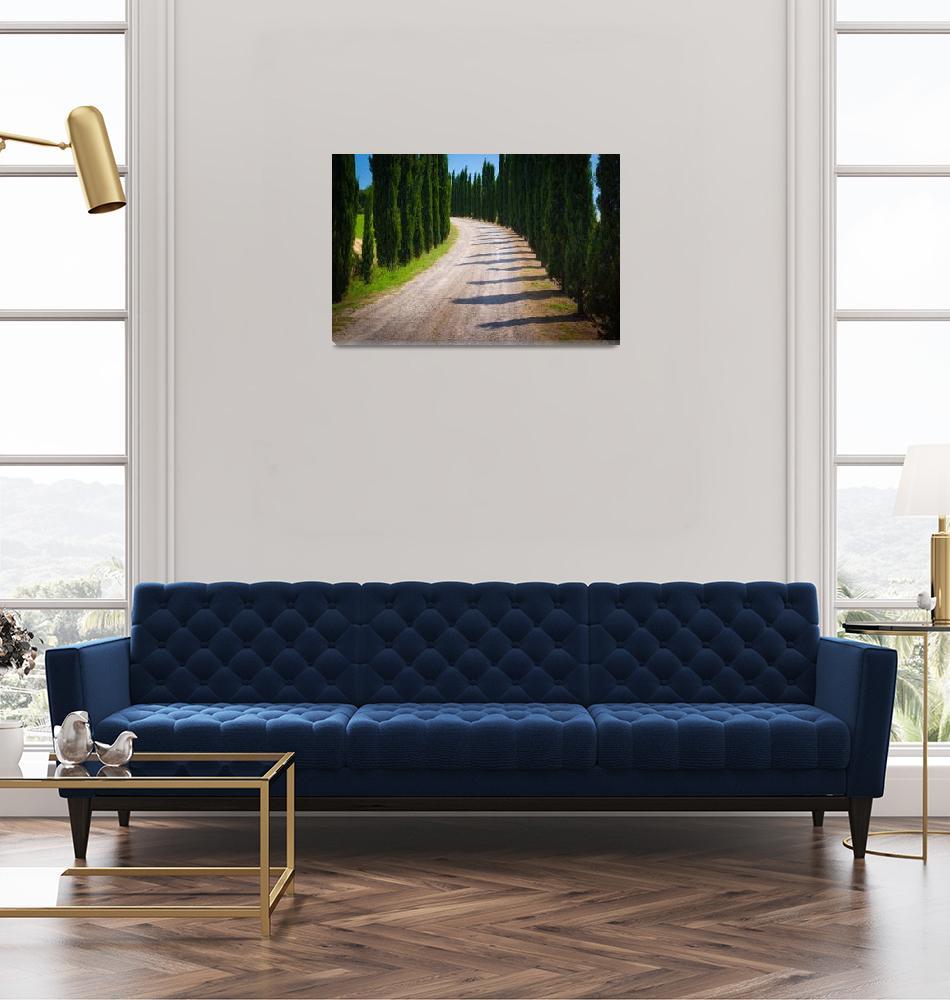 """Tuscan Road""  (2010) by Inge-Johnsson"