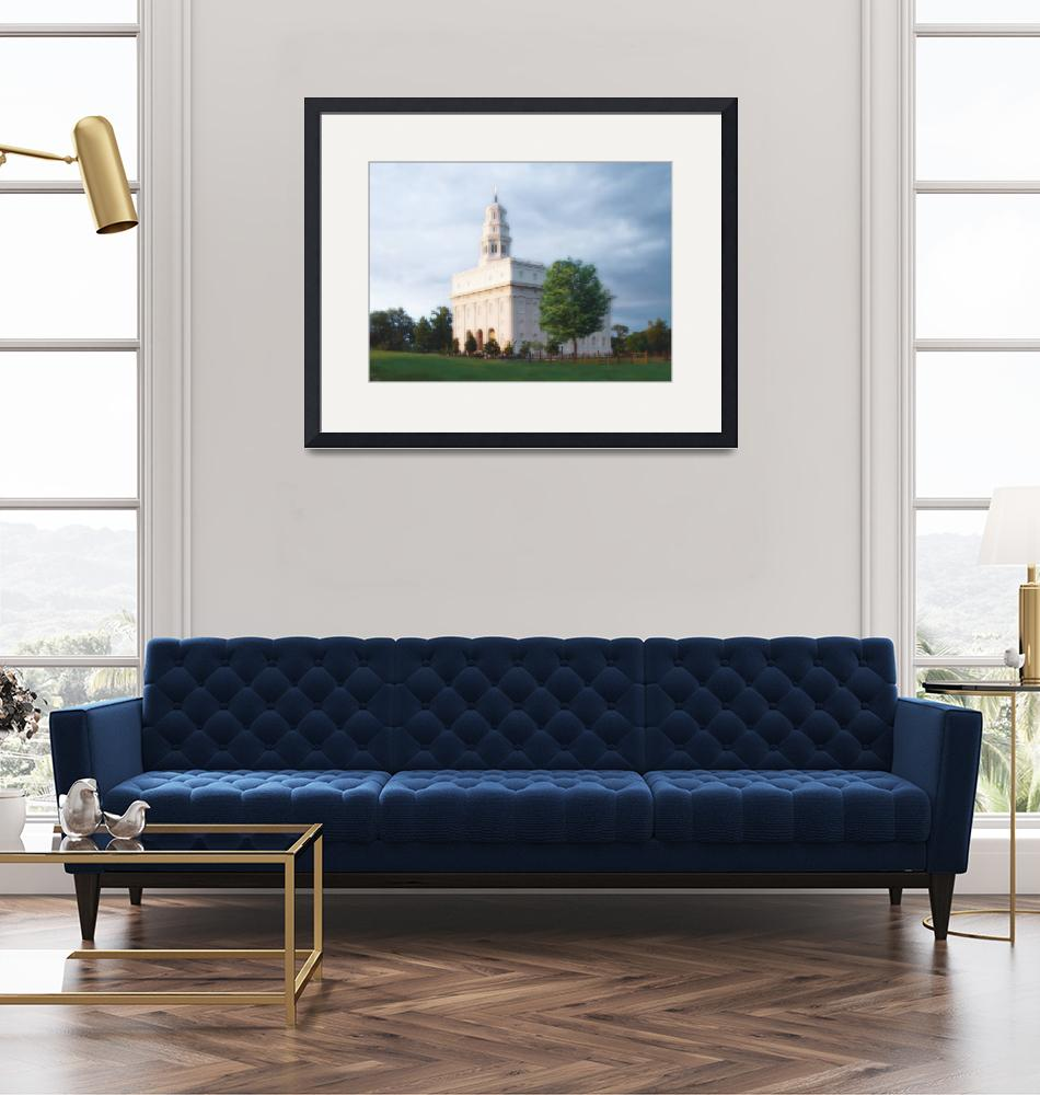 """""""Nauvoo Temple / Summer""""  by TerrySpringer"""
