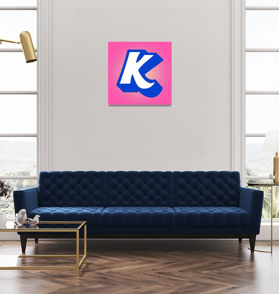 """""""K-Kool-Aid""""  (2012) by LetterPopArt"""