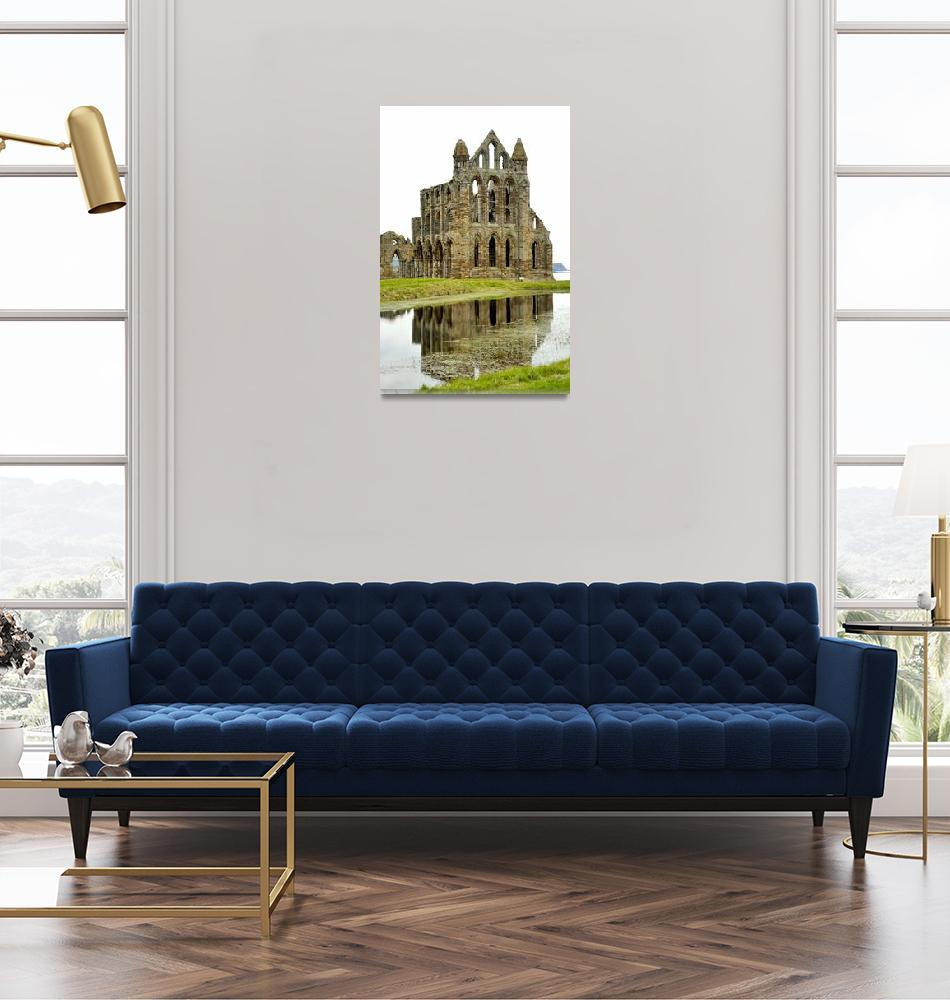 """""""Draculas Ruin: Whitby Abbey""""  (2004) by JoaoPonces"""