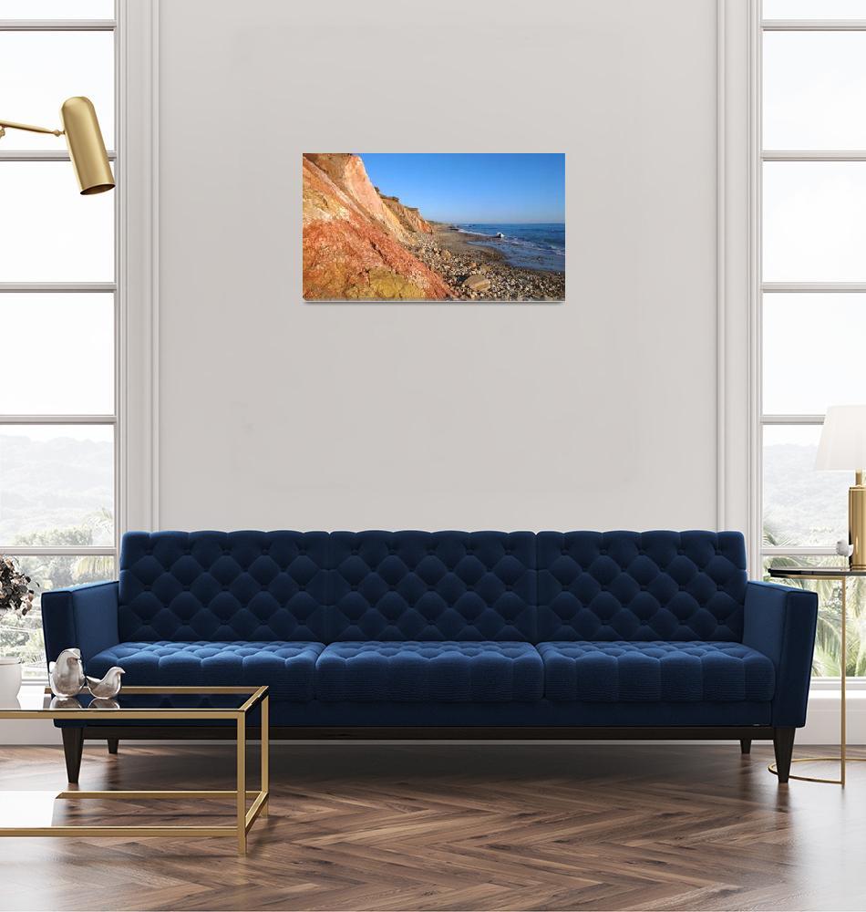 """""""Aquinnah Cliffs at Sunset, Martha"""