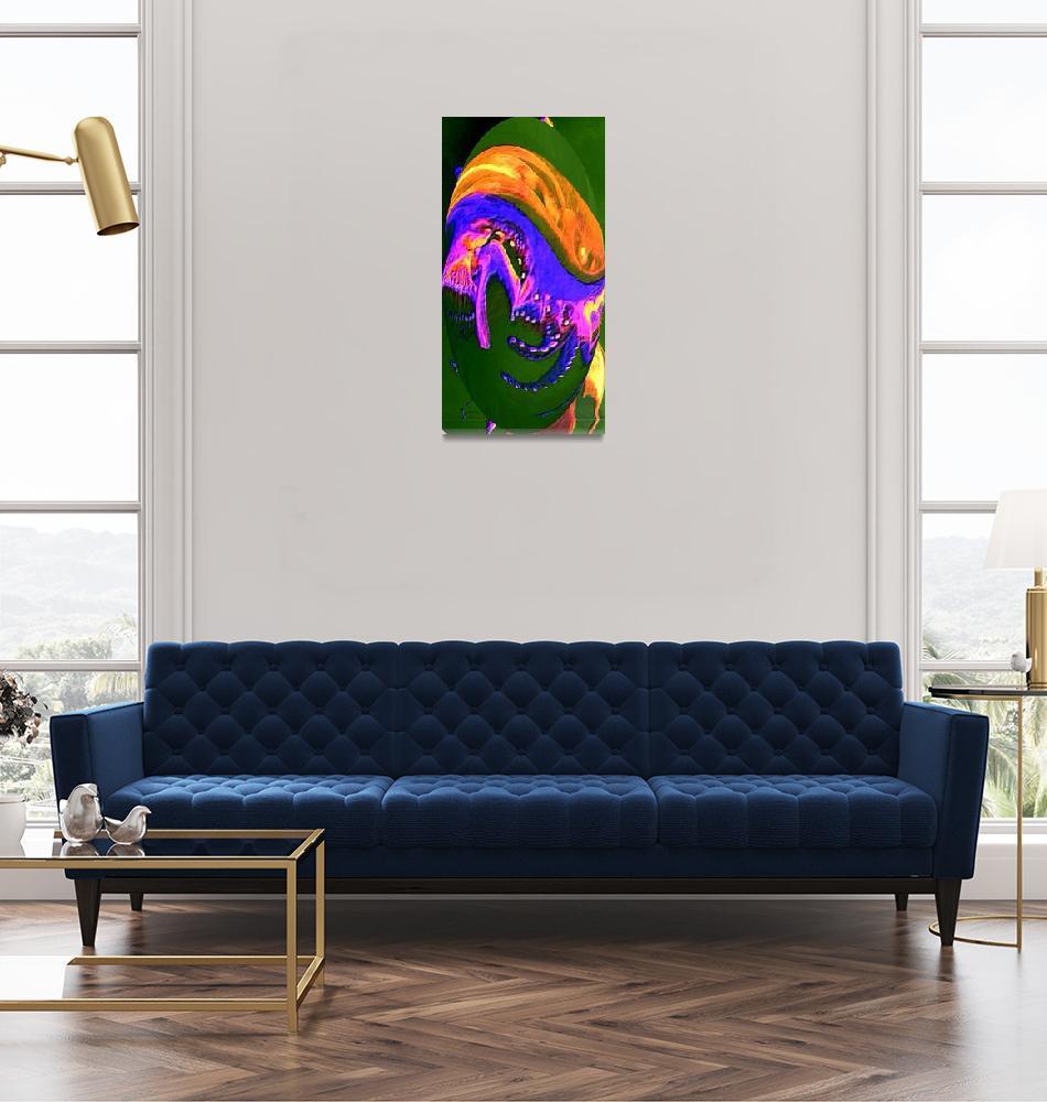"""""""WatercolorEgg""""  (2010) by KathleenBarich"""
