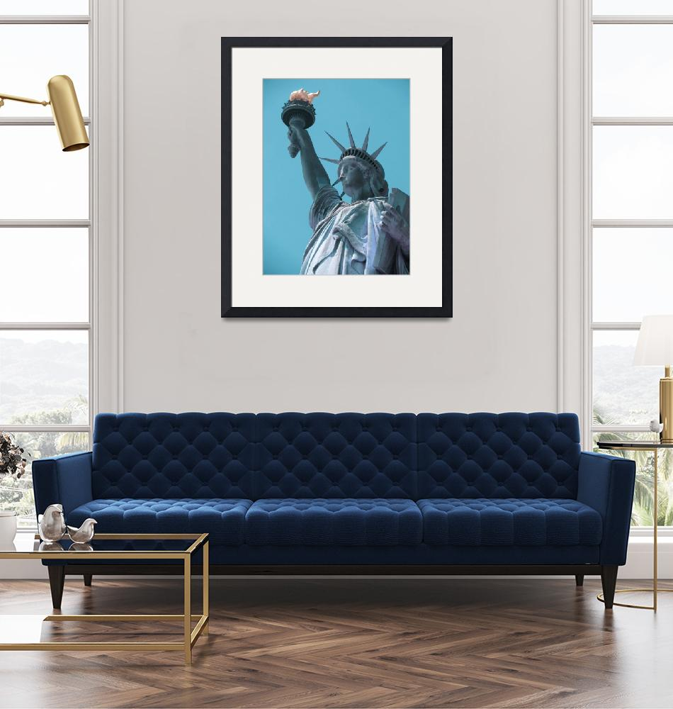 """The Statue of Liberty in New York City 4 a""  by motionage"