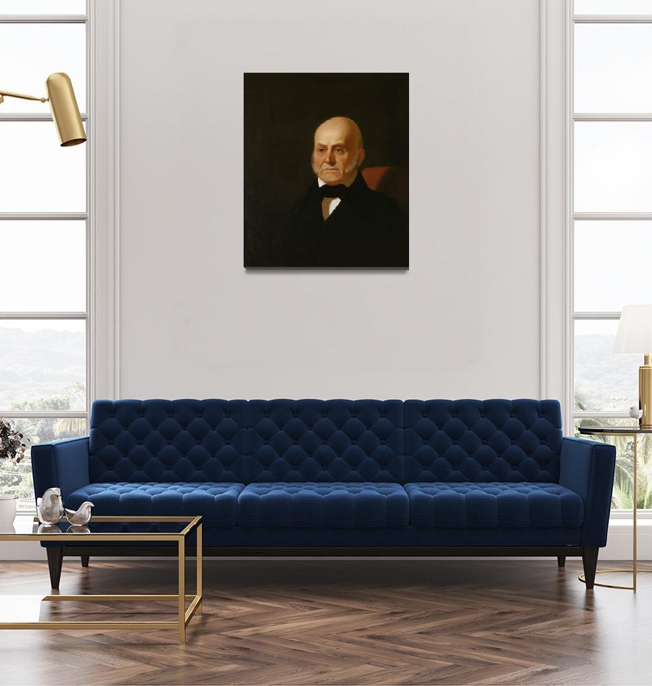 """""""George Caleb Bingham~John Quincy Adams""""  by Old_master"""