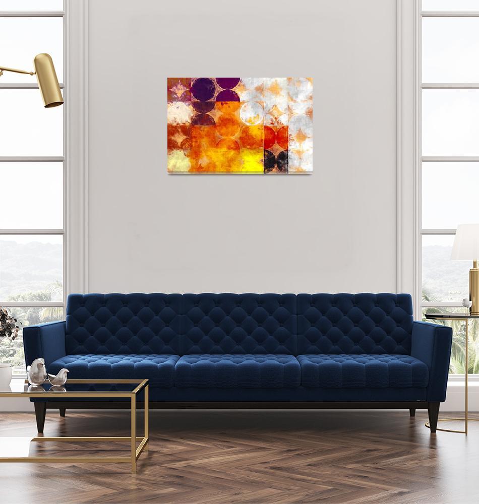 """geometry oil painting impressionism""  by KrisLeov"