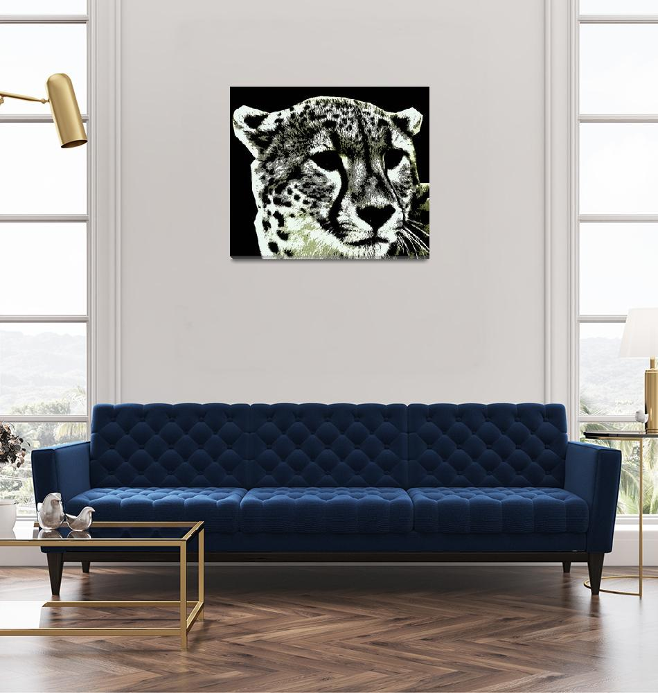 """cheetah-3""  (2014) by thegriffinpassant"