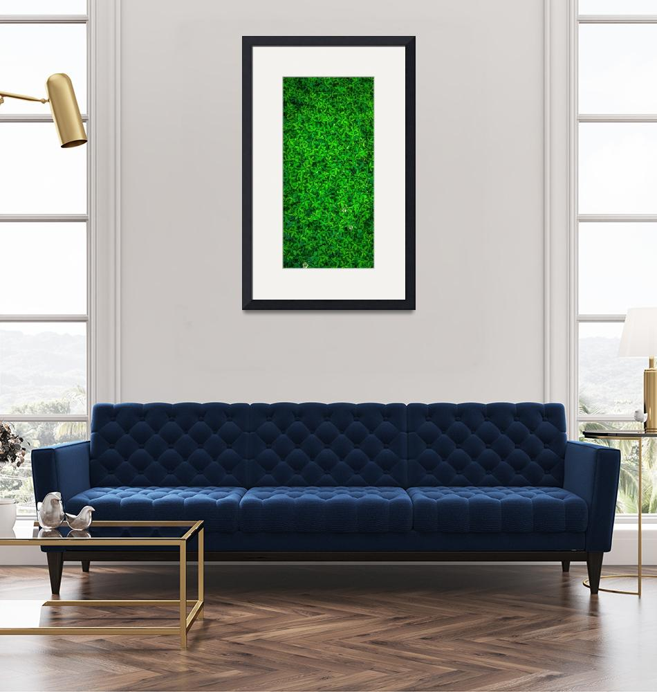 """""""Green Leafy Plants""""  (2020) by ArtHistory"""