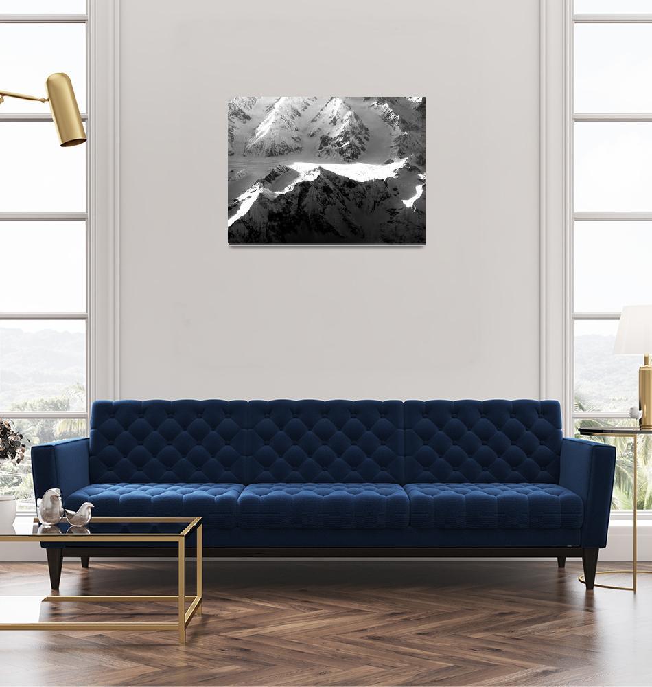 """""""Glaciers Feeding Zeravshan River""""  (2006) by Liberando4Life"""