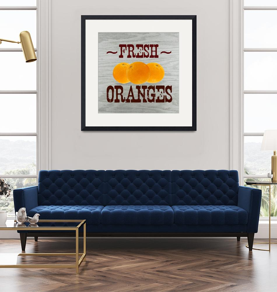 """FRESH ORANGES""  (2018) by HerbDickinson"