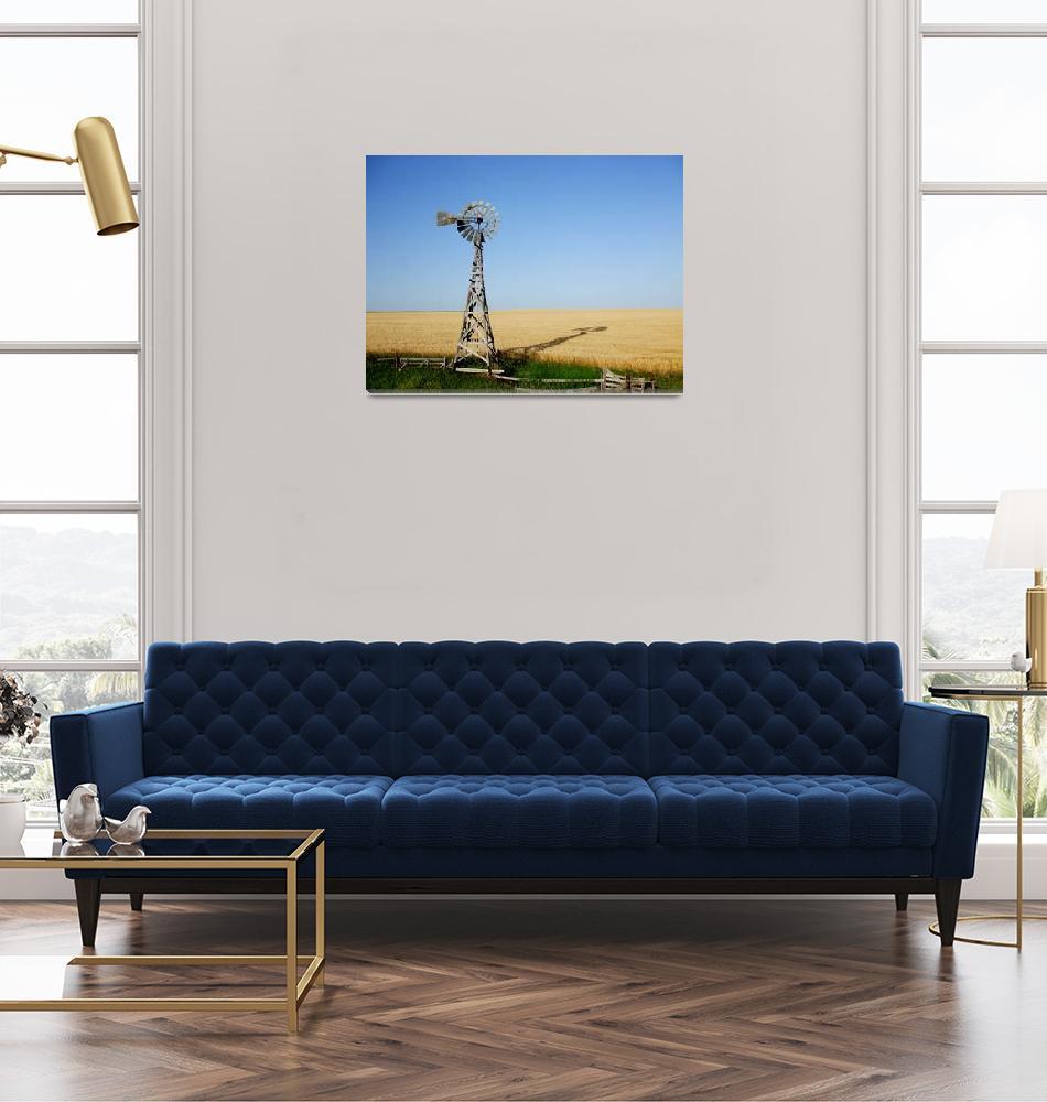 """""""Nebraska Windmill""""  (2008) by Czaplewski"""