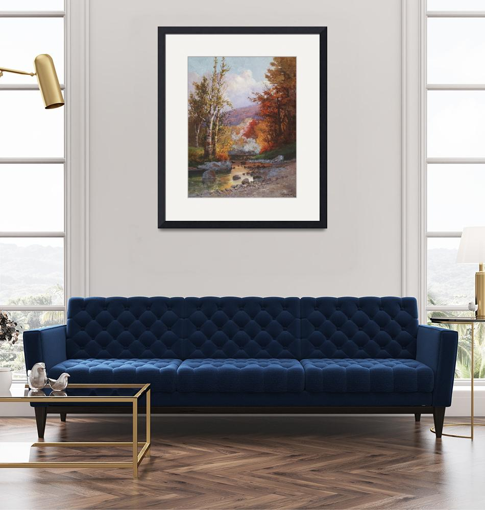"""""""Autumn in the Berkshires""""  by fineartmasters"""