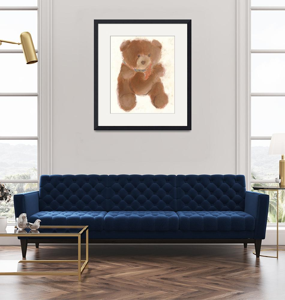 """Tony Bear""  (1996) by RoseanneCarter"