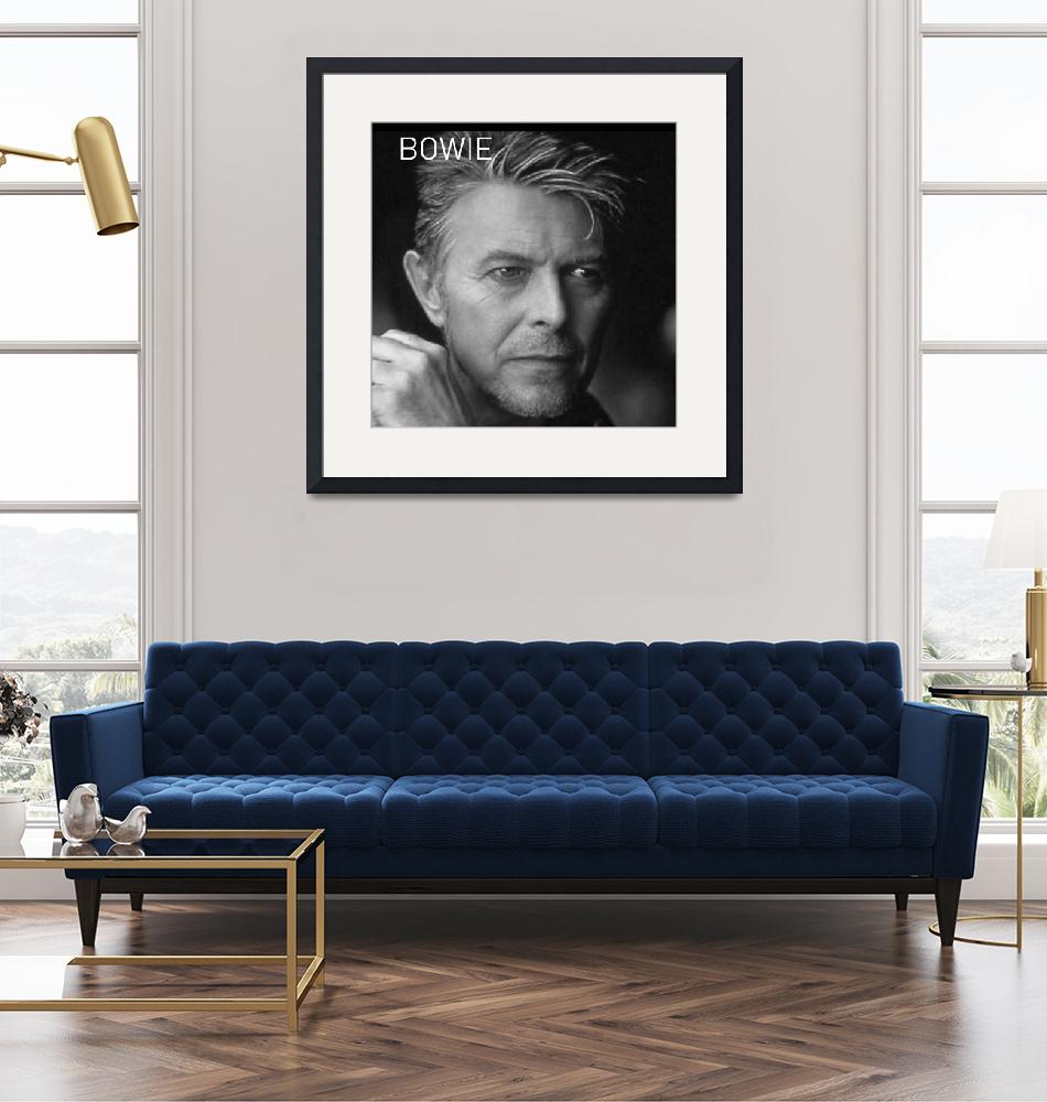 """""""BOWIE""""  by artistMichaelTodd"""