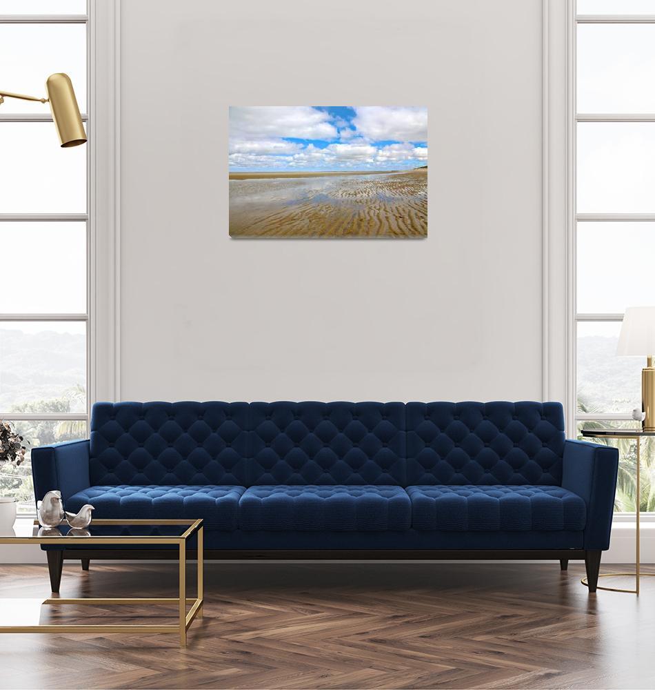 """Cape Cod : Brewster Flats""  (2020) by ChrisSeufert"