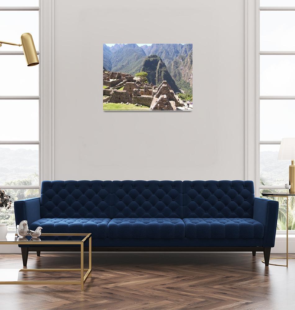 """Ruins at Machu Picchu""  (2007) by burnsgolf"