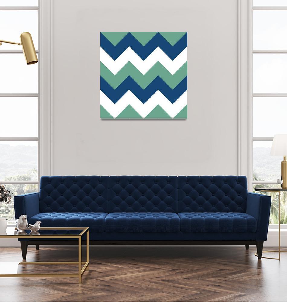 """Emerald Monaco Blue""  by artlicensing"