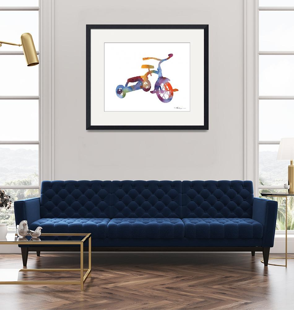 """""""Tricycle""""  (2015) by k9artgallery"""