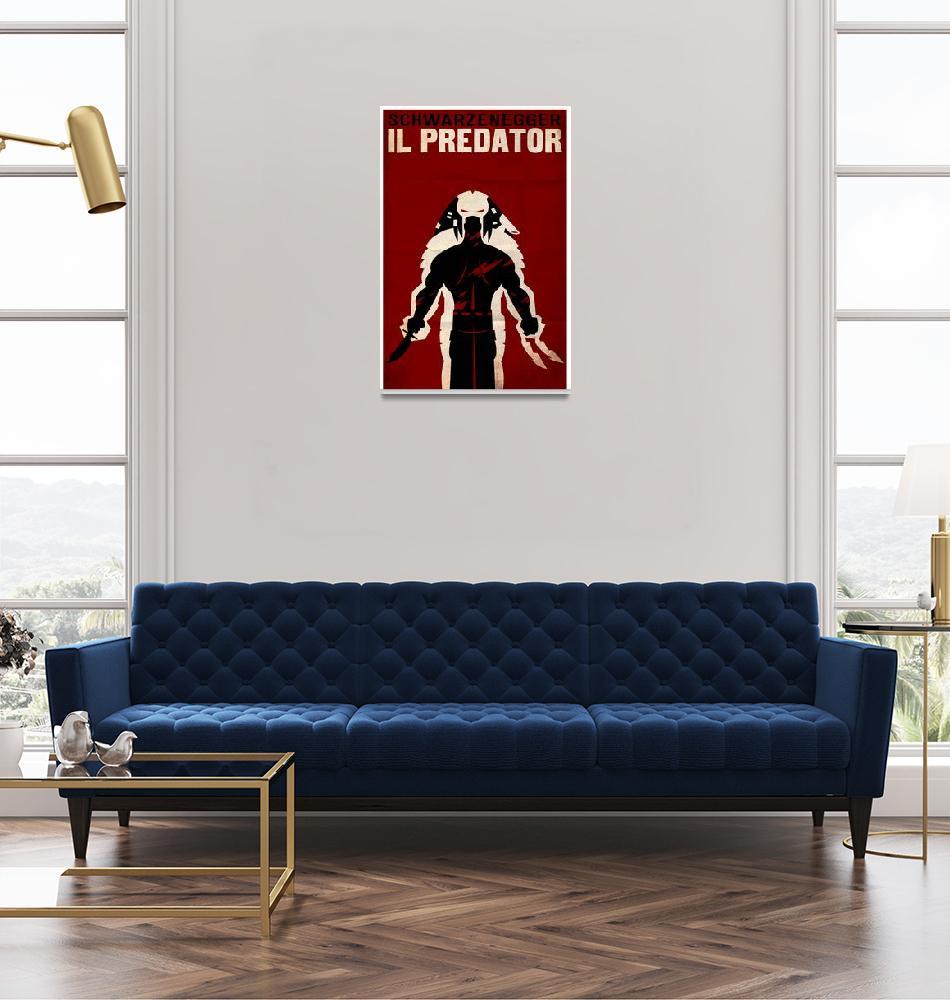 """PREDATOR (italian)""  (2009) by TravisPitts"