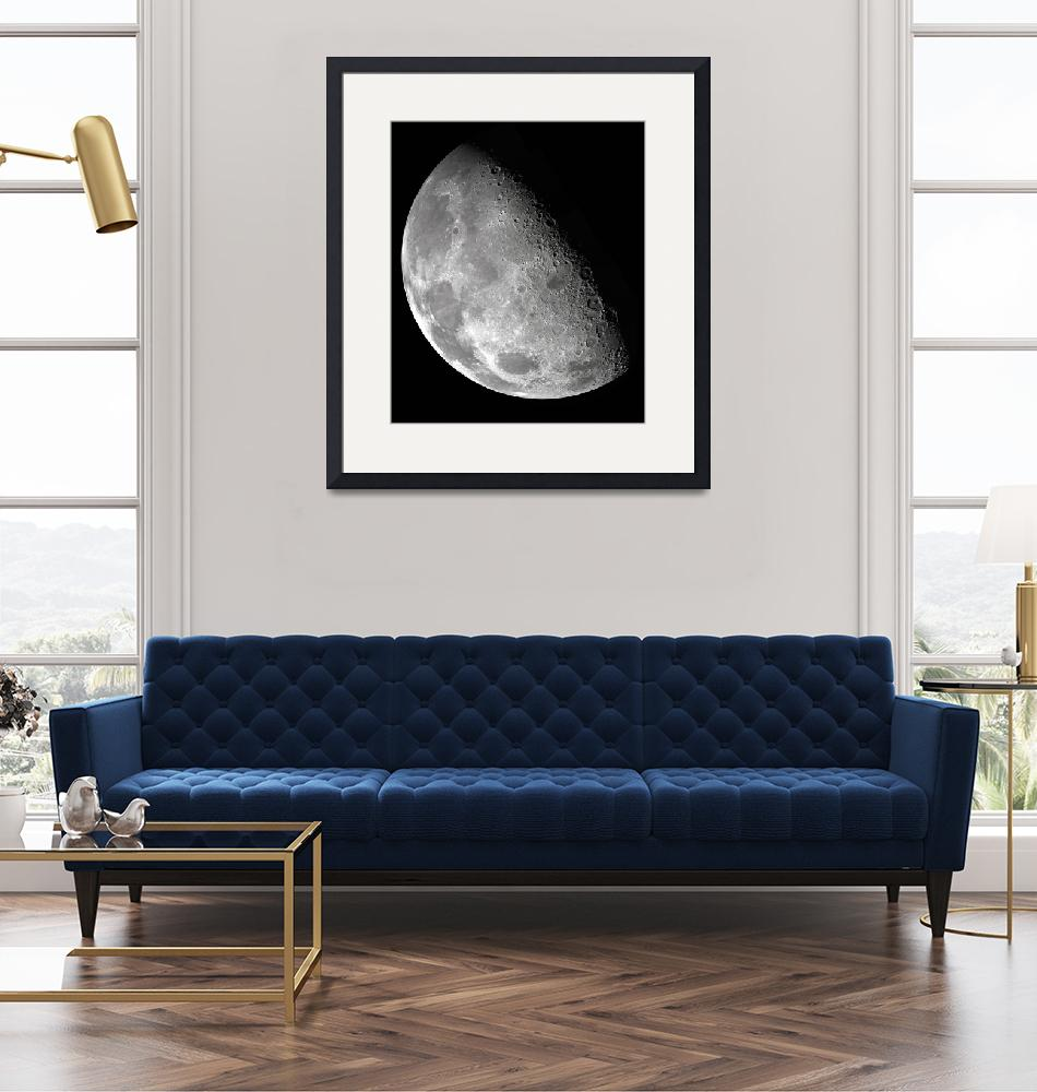 """""""Moon from the Galileo Orbiter""""  (2012) by SouthIdahoPhoto"""
