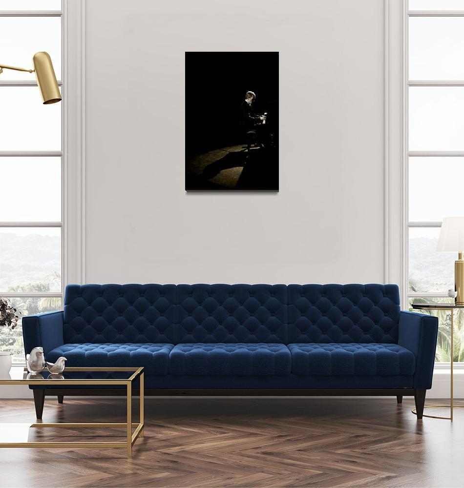 """""""Le pianiste""""  (2009) by fabdany"""