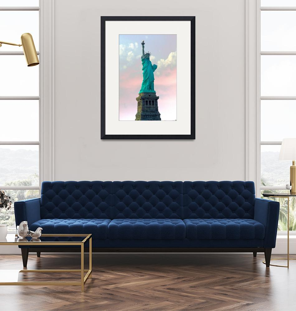 """Statue of Liberty""  (2009) by calphy"