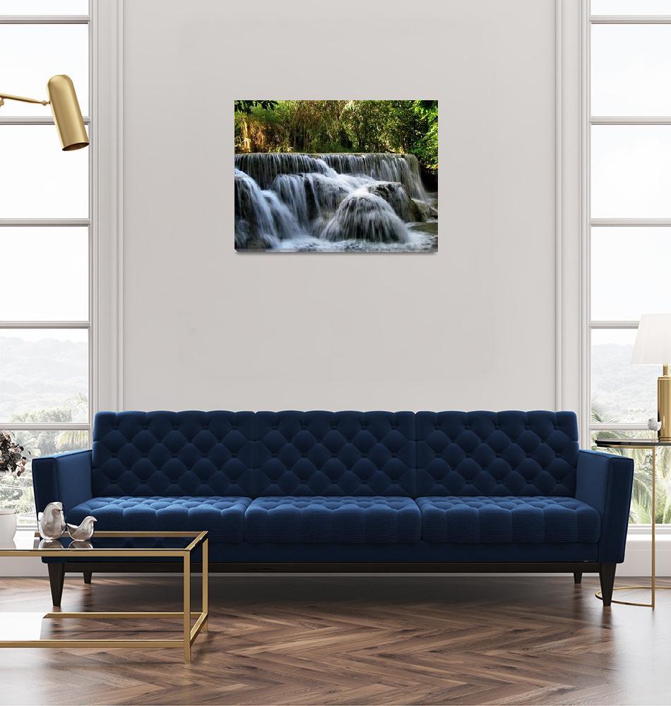 """Kuang Si Waterfalls""  (2009) by Himalayafan"