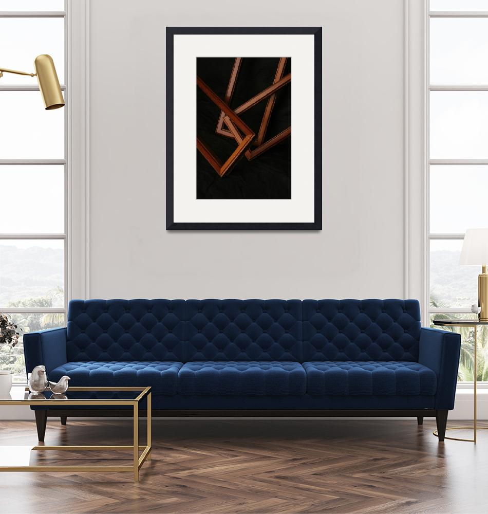 """""""Abstract Frames""""  (2007) by athompson"""