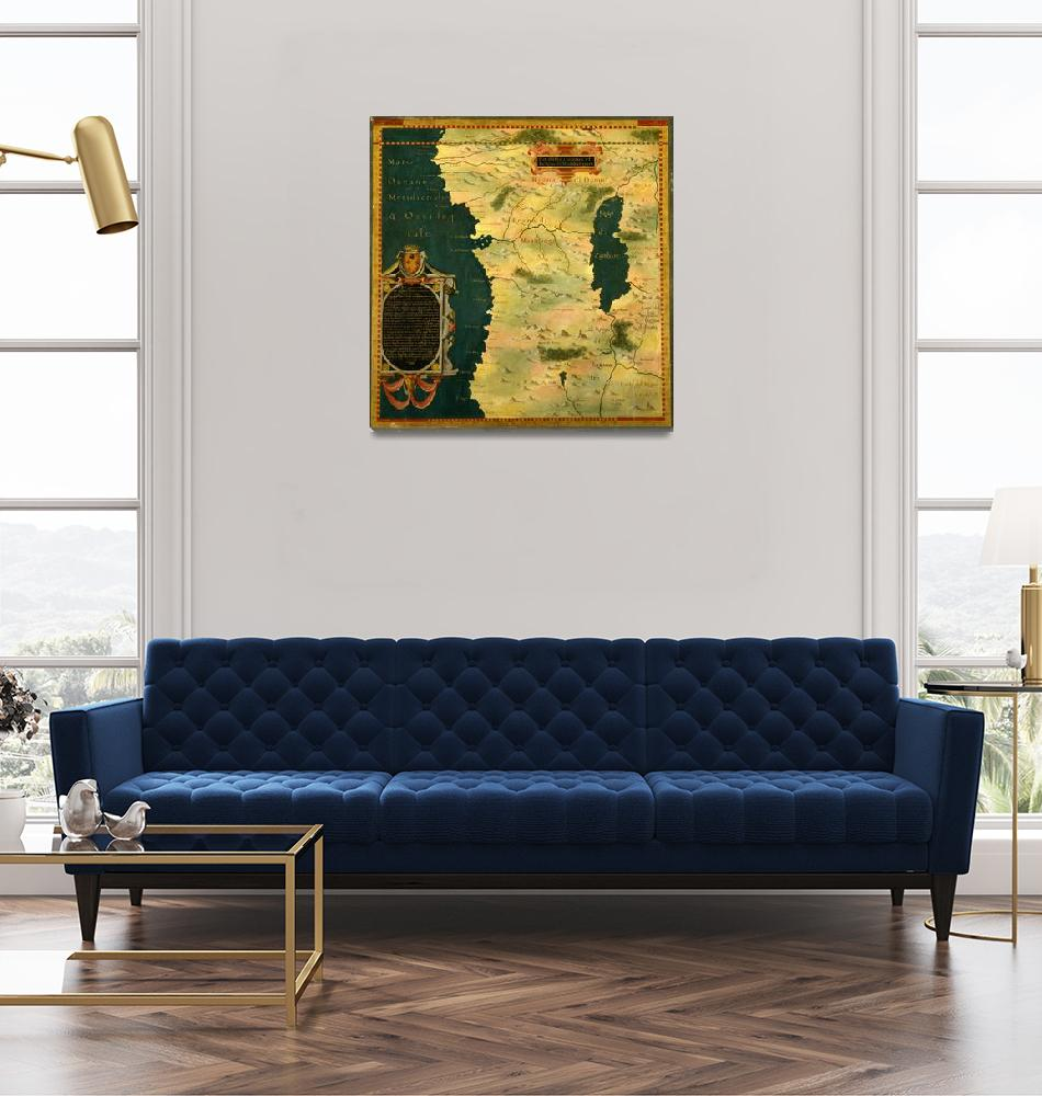 """Stefano Bonsignori~Gabon, Angola and Congo""  by Old_master"