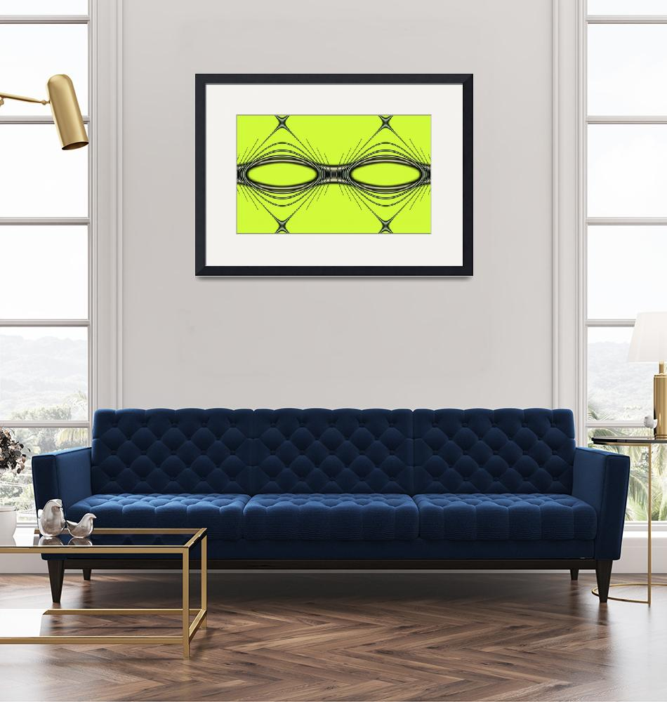 """""""Wired Glasses Abstracted""""  (2013) by ecolosimo"""