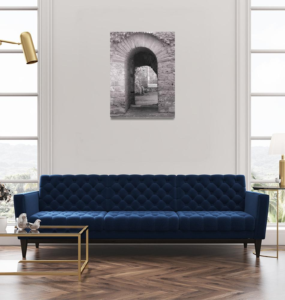 """""""Carthage Arches""""  (2007) by rayjacque"""