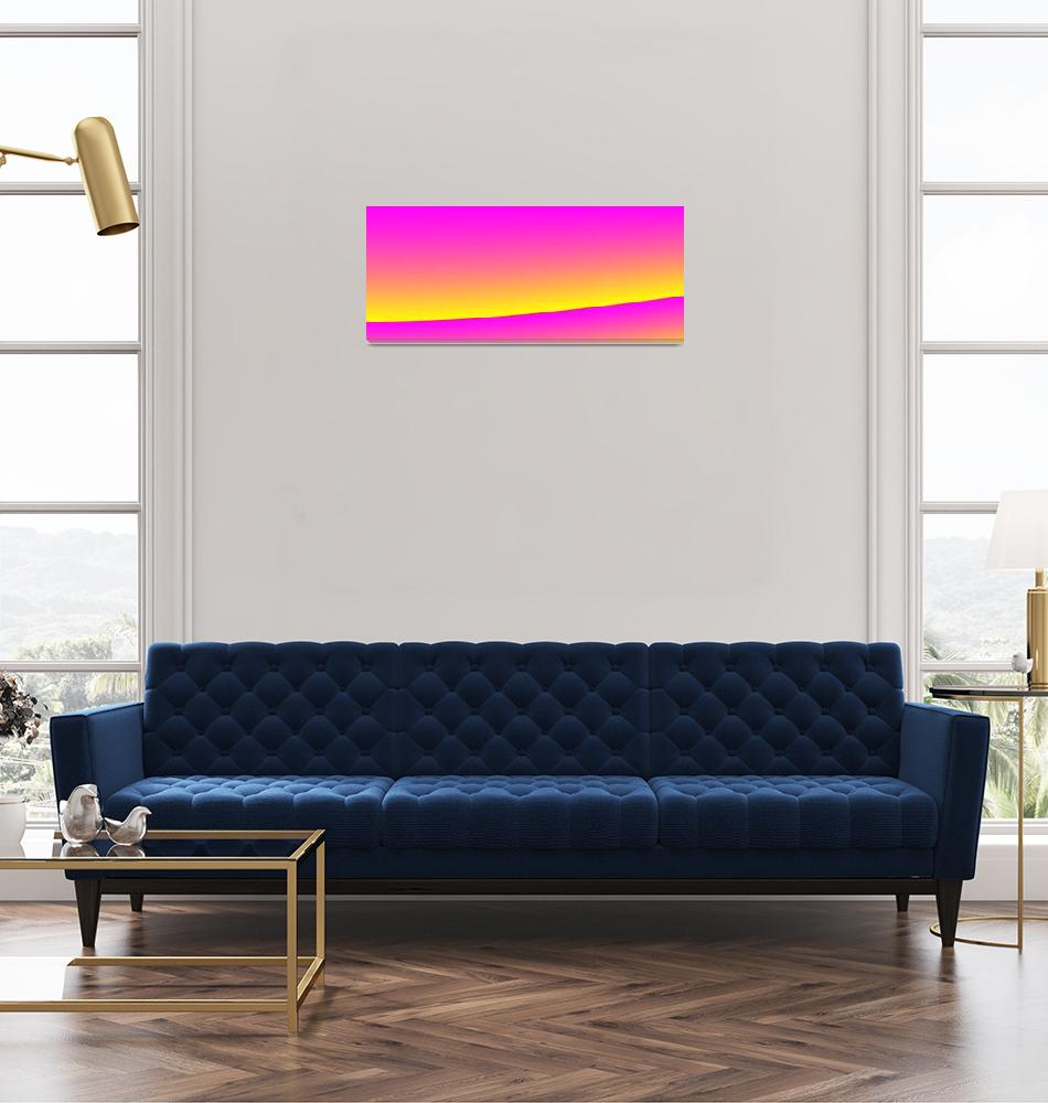 """California Sunset""  (2010) by AnneMarieBaugh"