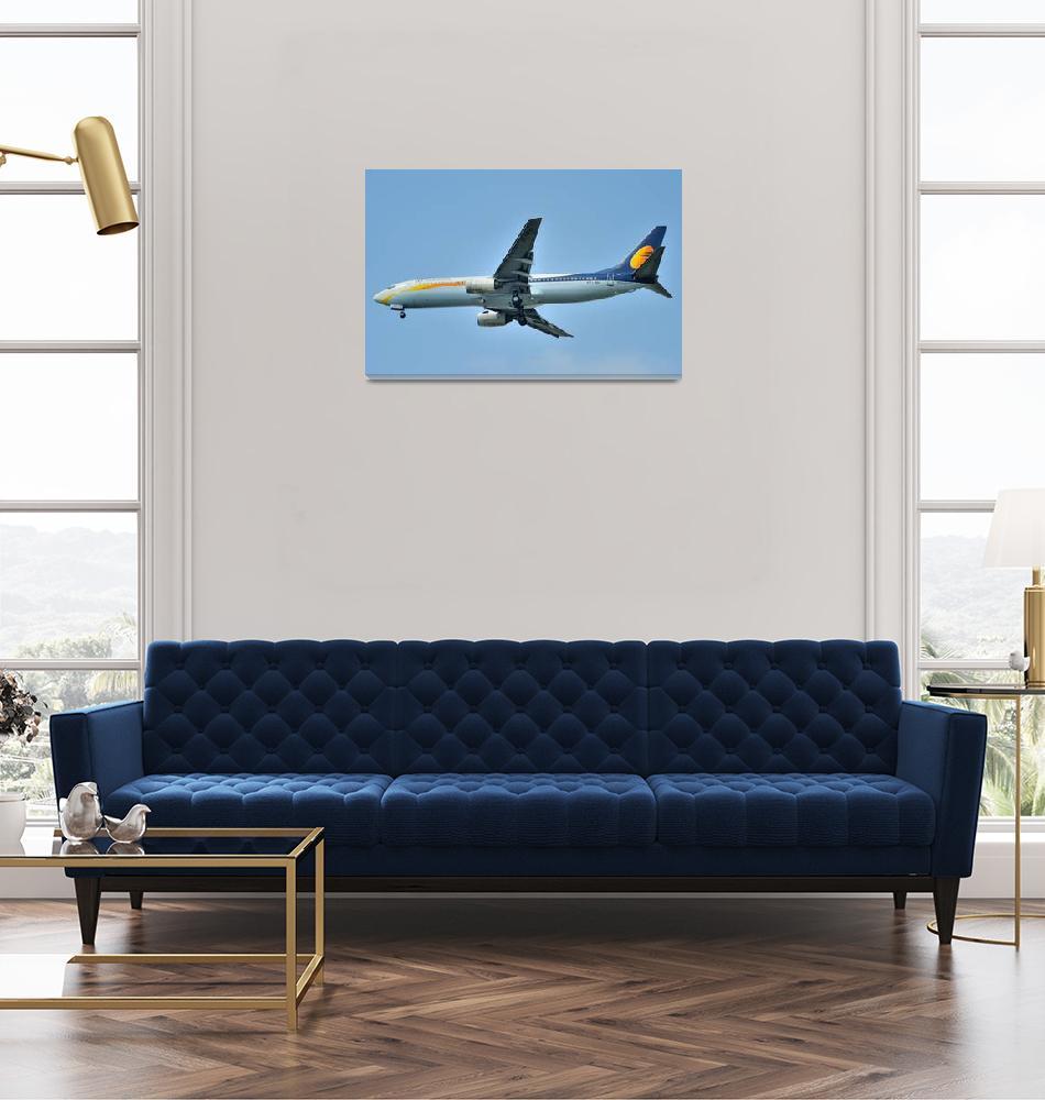 """JET AIRWAYS B-737/800, VT-JNJ""  (2011) by JoaoPonces"