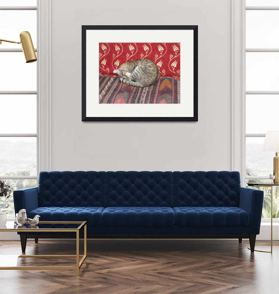 """""""Cat on Rugs""""  (2008) by rnh82"""