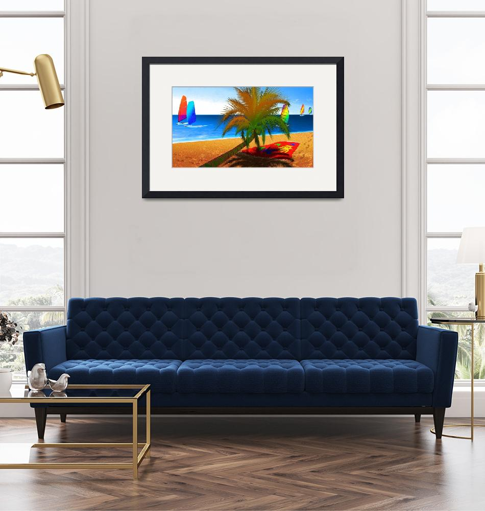 """""""Palm Beach""""  (2009) by GrahamColton"""