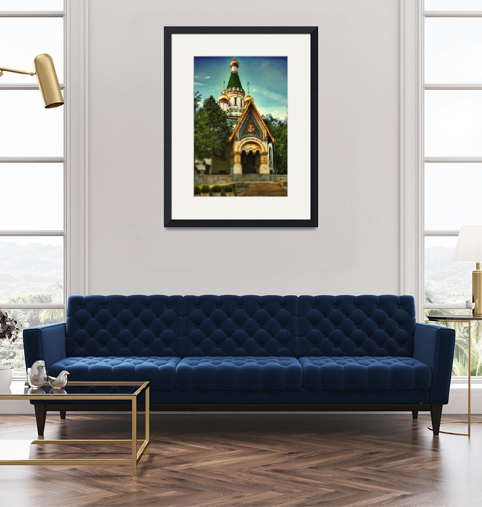 """""""The Russian Church""""  (2012) by annayanev"""