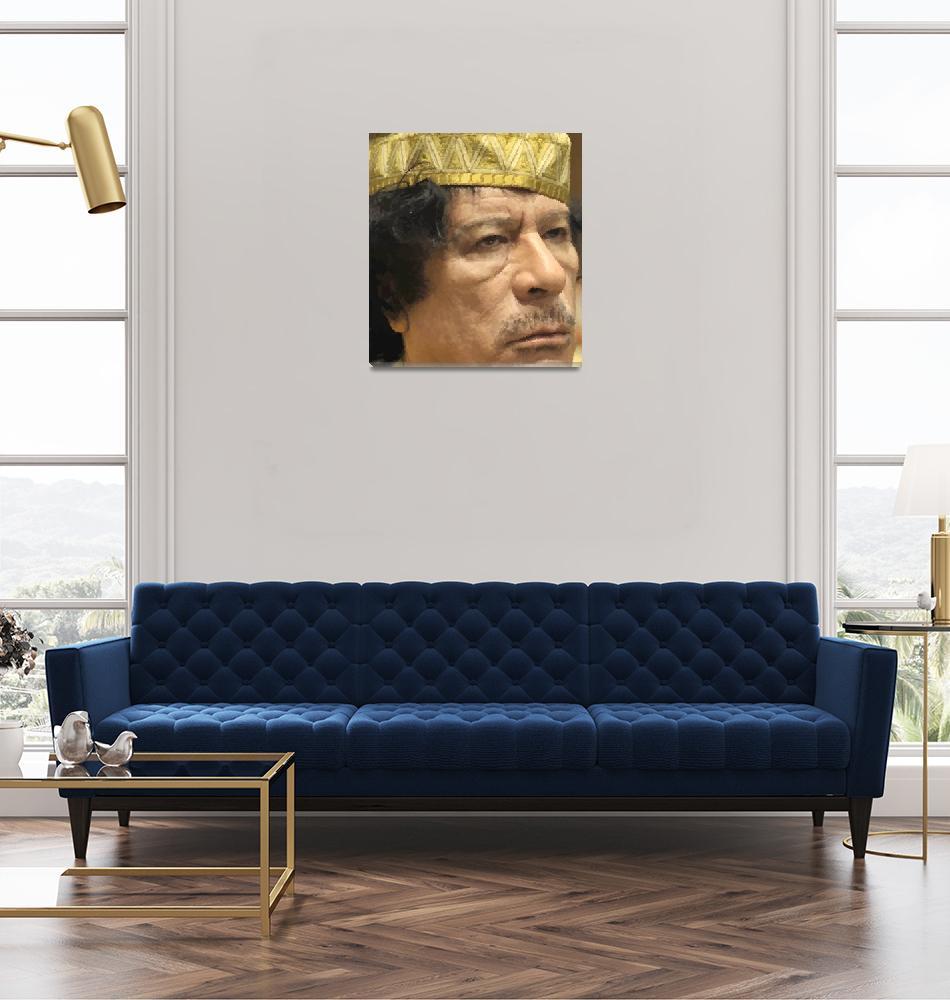 """""""Gaddafi""""  (2009) by Brian60"""