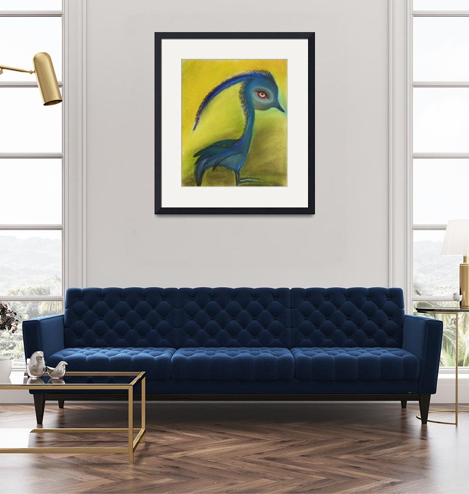 """""""Blue bird""""  (2004) by RedKnibbles"""
